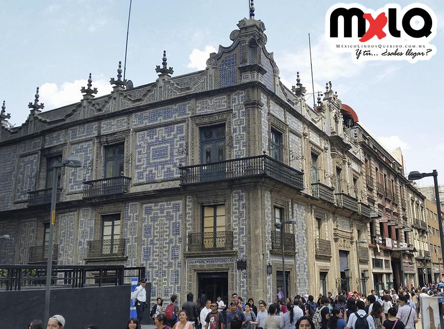M xico lindo y querido casa de los azulejos ciudad de m xico for Casa de los azulejos historia