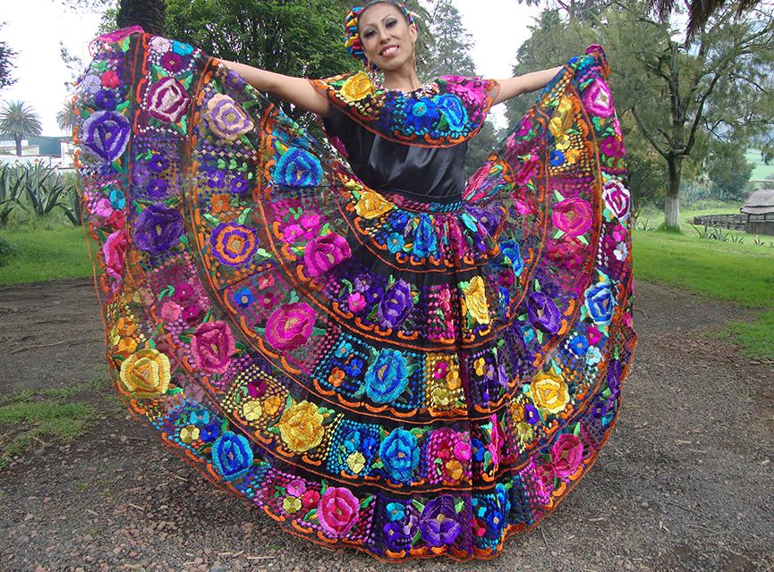 México Lindo Y Querido Traje Típico De Chiapas