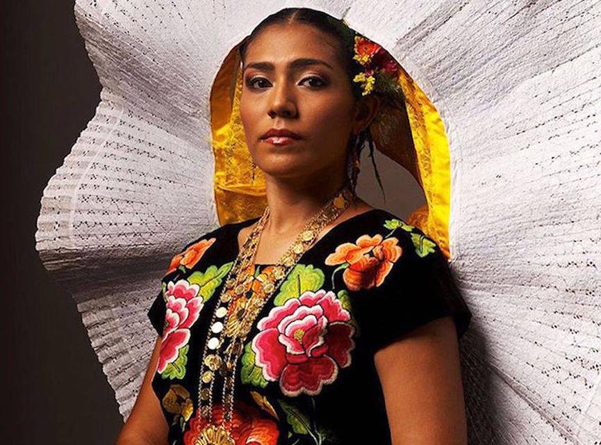 México Lindo Y Querido Traje Típico De Tehuana Oaxaca